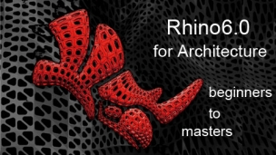 2016 Rhino 6.0 architecture advanced courses from beginners to masters